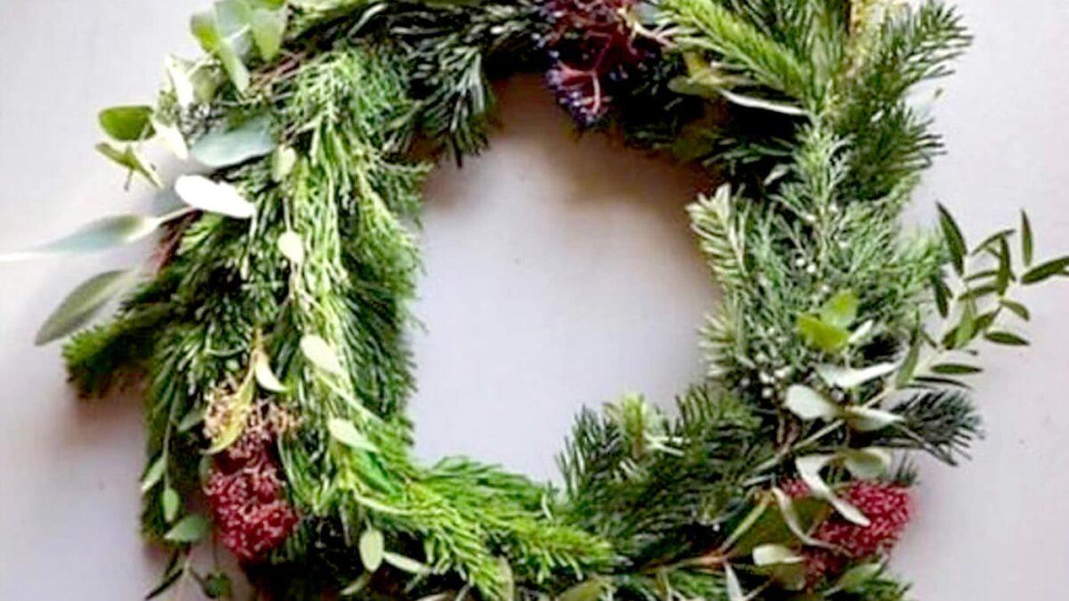 Weihnachtskranz-Workshop als Zoom // HIMBEER