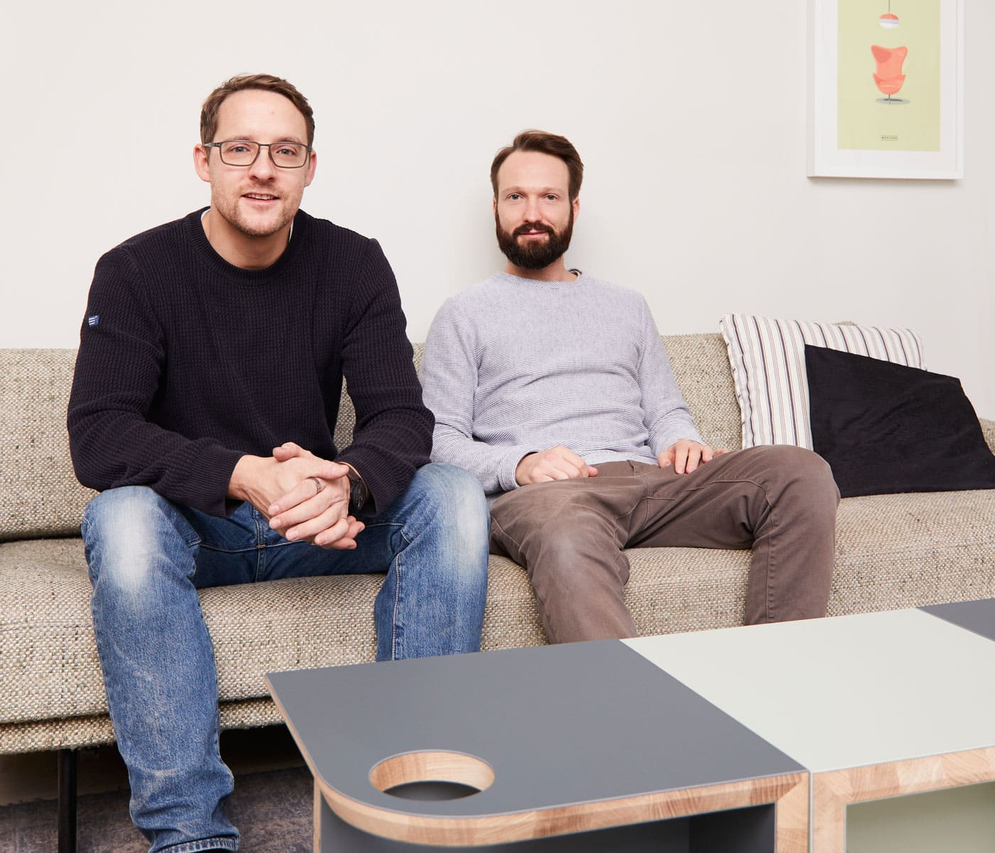 Philip und Lars – Möbelmacher // HIMBEER
