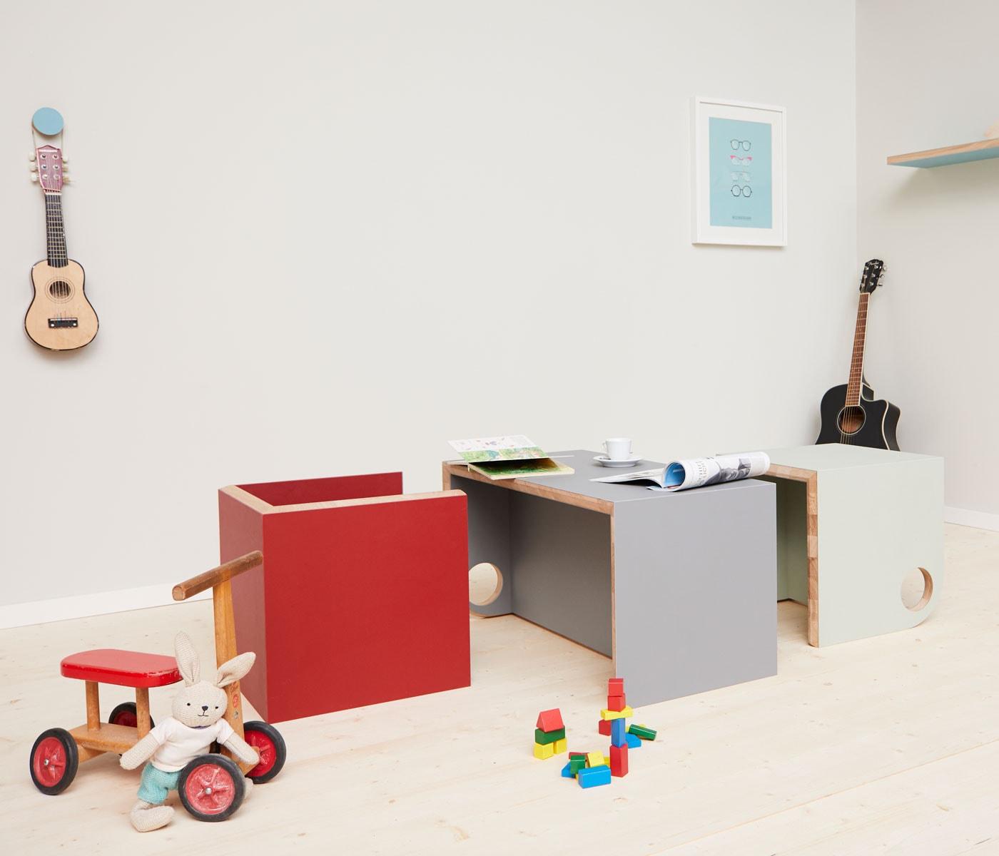 Nachhaltige Möbel für Kinder und Familien: bekind. // HIMBEER