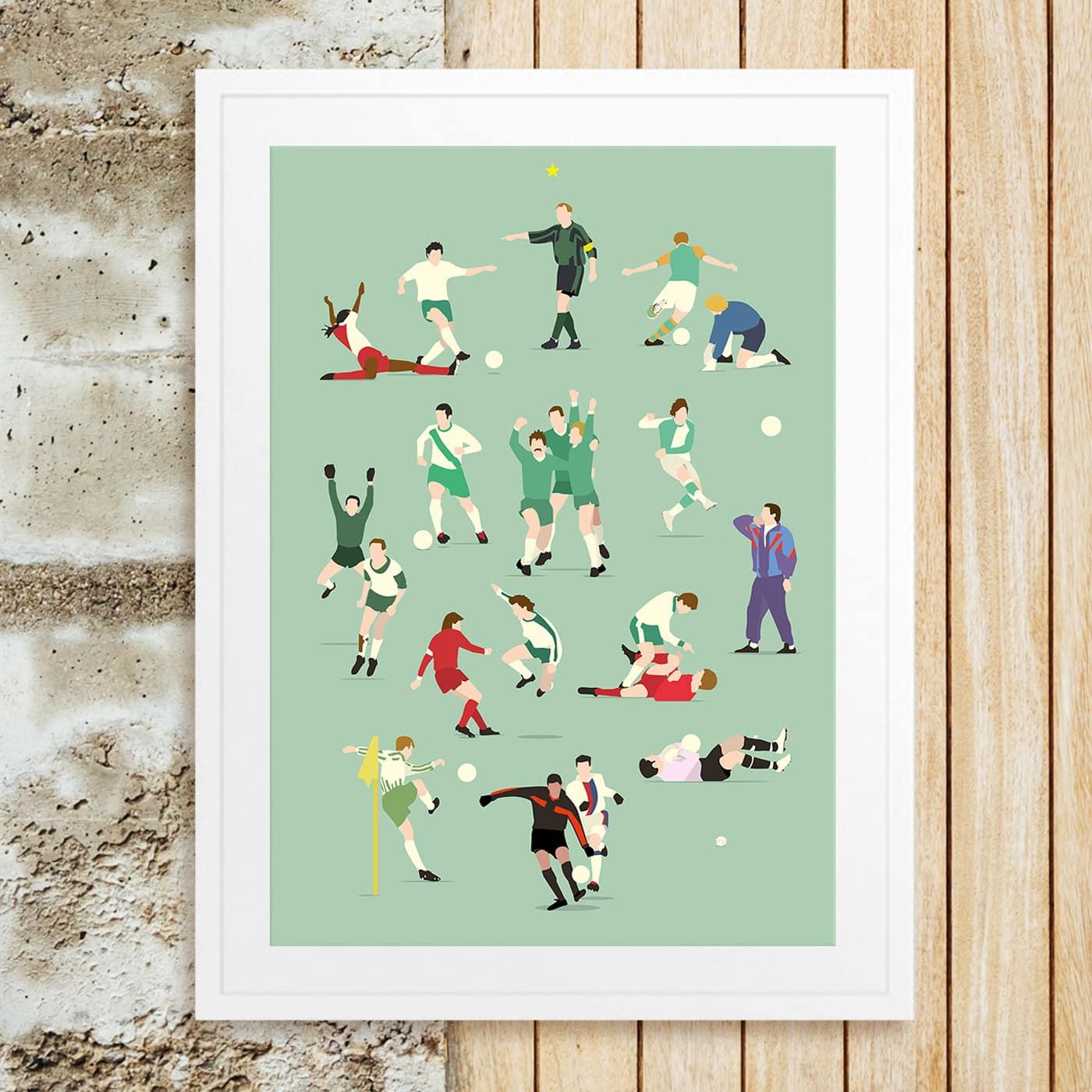 Tolle Geschenkidee: Werder Legenden-Poster // HIMBEER