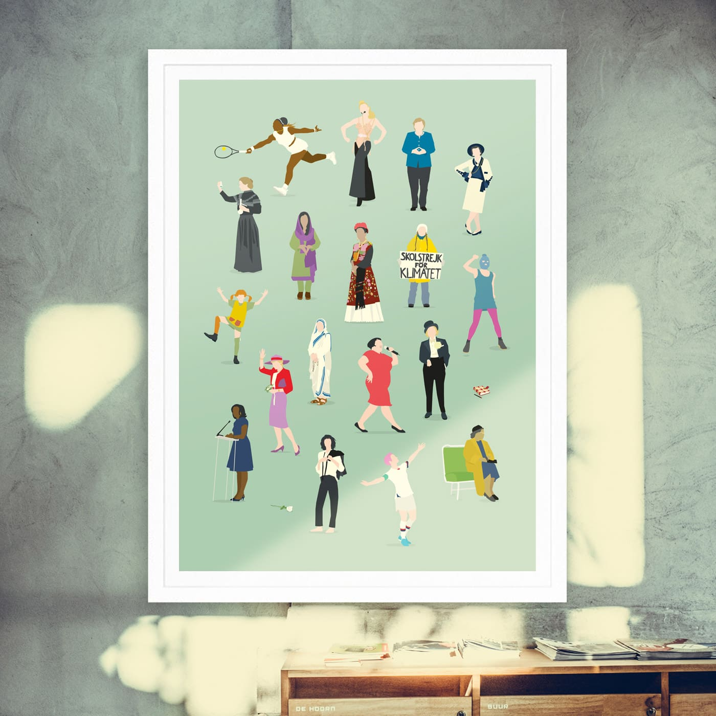 Tolle Geschenkidee: Female Glory-Poster // HIMBEER