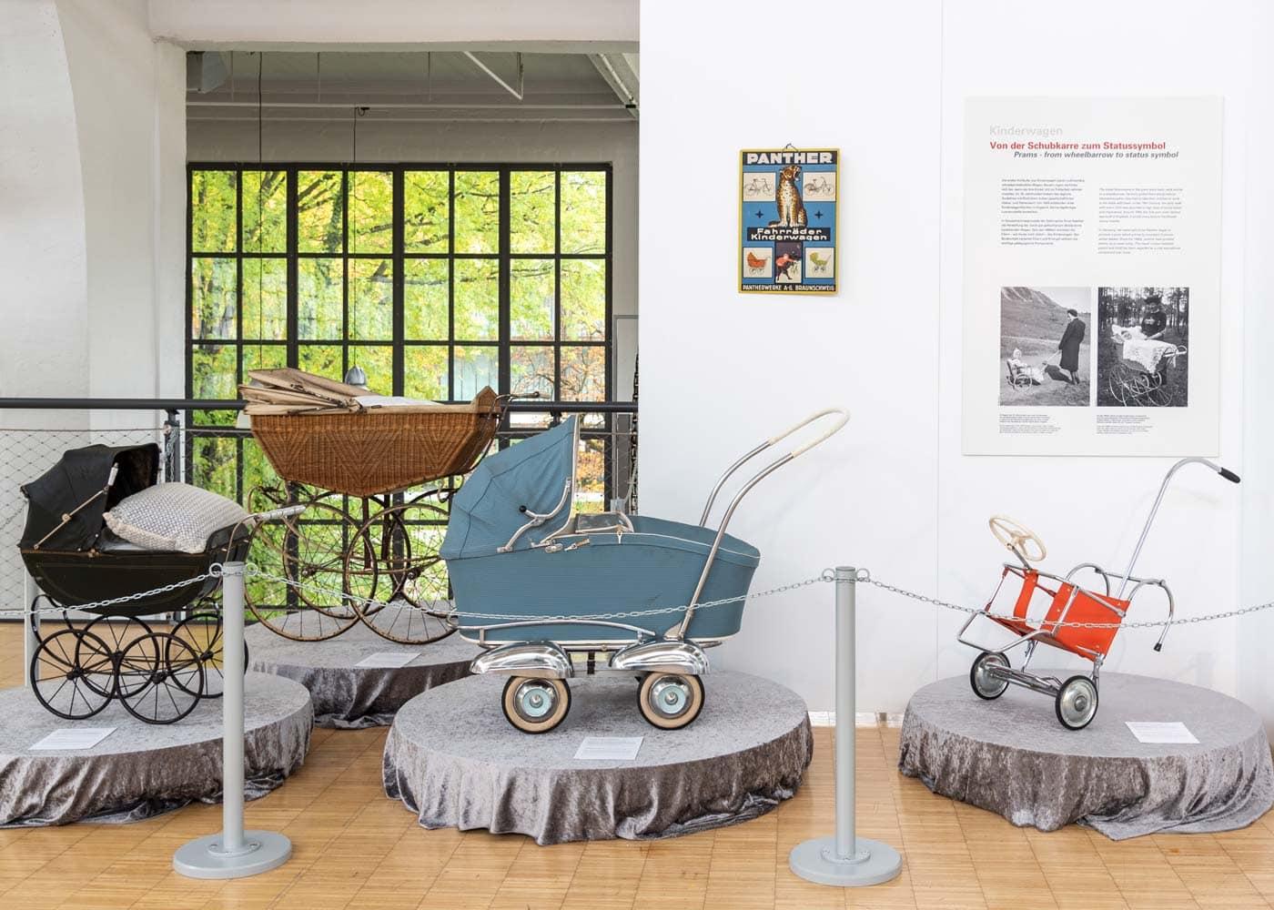 Spielmobile aus 150 Jahren – Ausstellung in München // HIMBEER