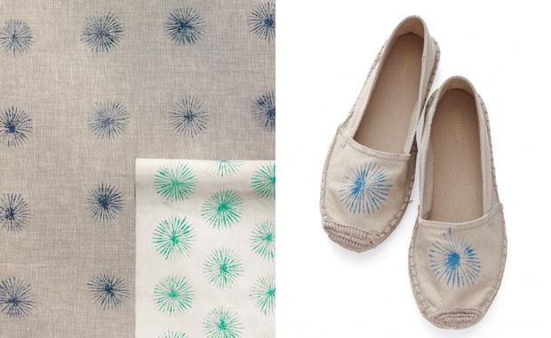 Stoffschuhe und Tücher mit tollen Mustern bedrucken – DIY-Projekt mit Kindern // HIMBEER