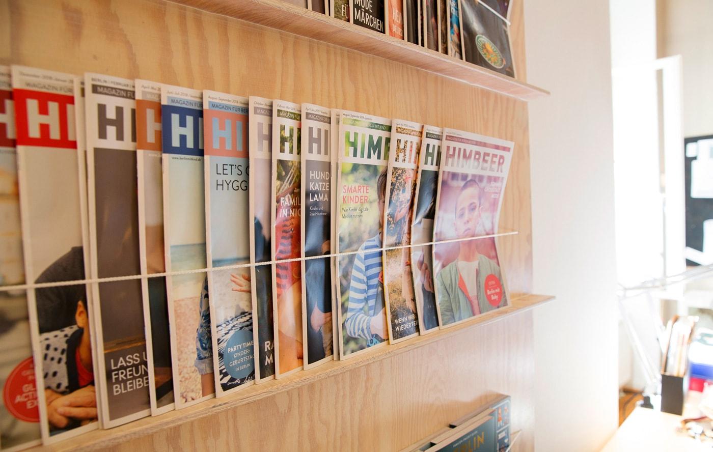 HIMBEER Verlag: Print- und Online-Medien für Familien // HIMBEER
