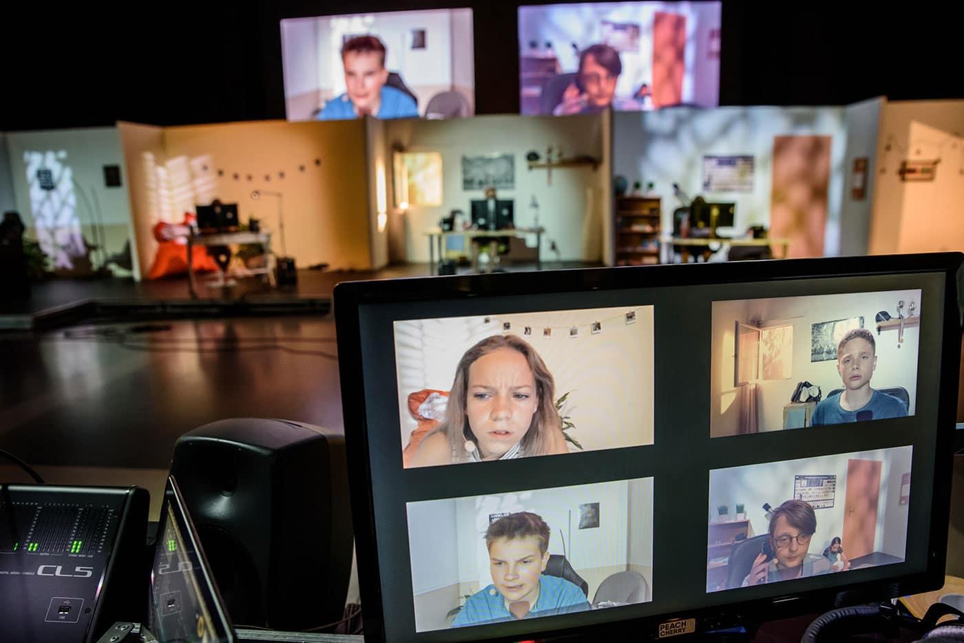 KIndertheater im Stream: Detektive TKKG im Jungen Theater Bonn // HIMBEER