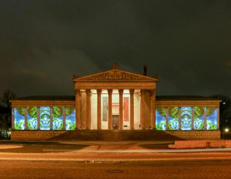 Inside Out – Projektionen auf die Fassaden der Staatlichen Antikensammlung // HIMBEER