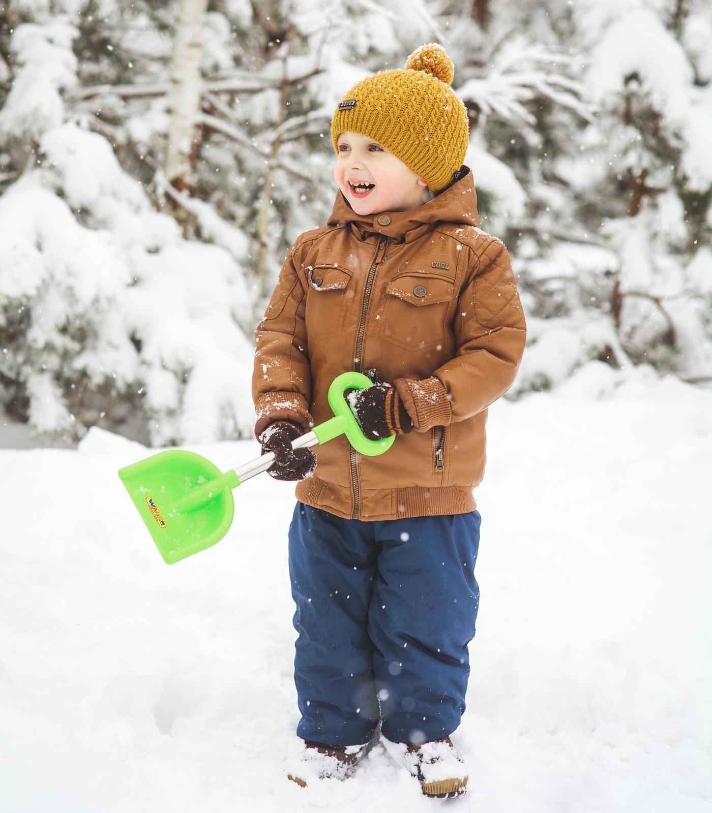 Tipps fürs Wochenende 12.-14.02.2021: Winter-Abenteuerspielplatz: Im Schnee spielen // HIMBEER