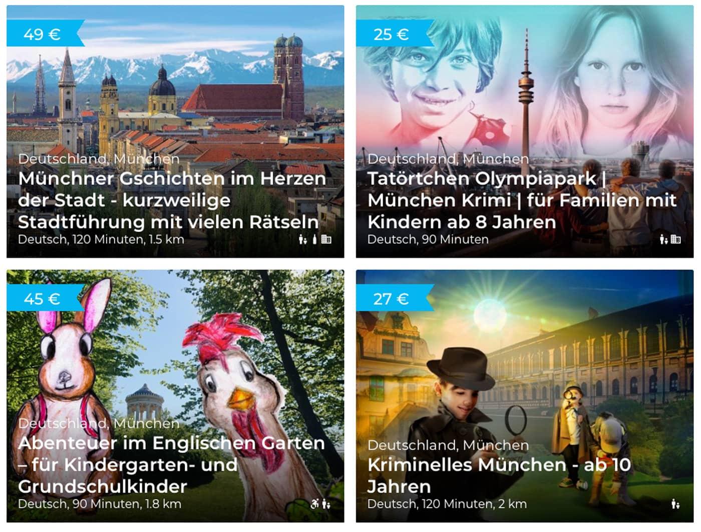 Interaktive Stadtrallyes für Kinder in München // HIMBEER