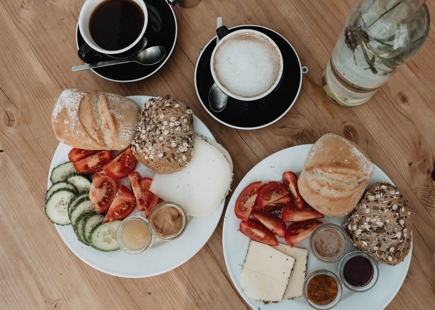 Frühstück für alle und alle Vorlieben // HIMBEER