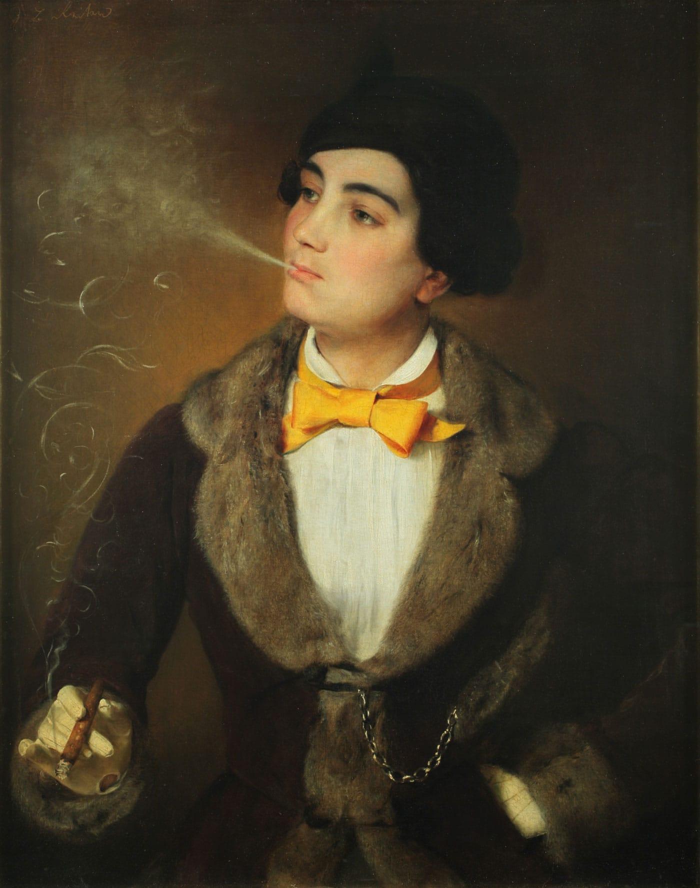 Frauentag im DHM Berlin: Die Emanzipierte – Gemälde um 1847 // HIMBEER