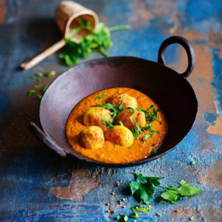 Dum Aloo Kartoffel-Curry // HIMBEER