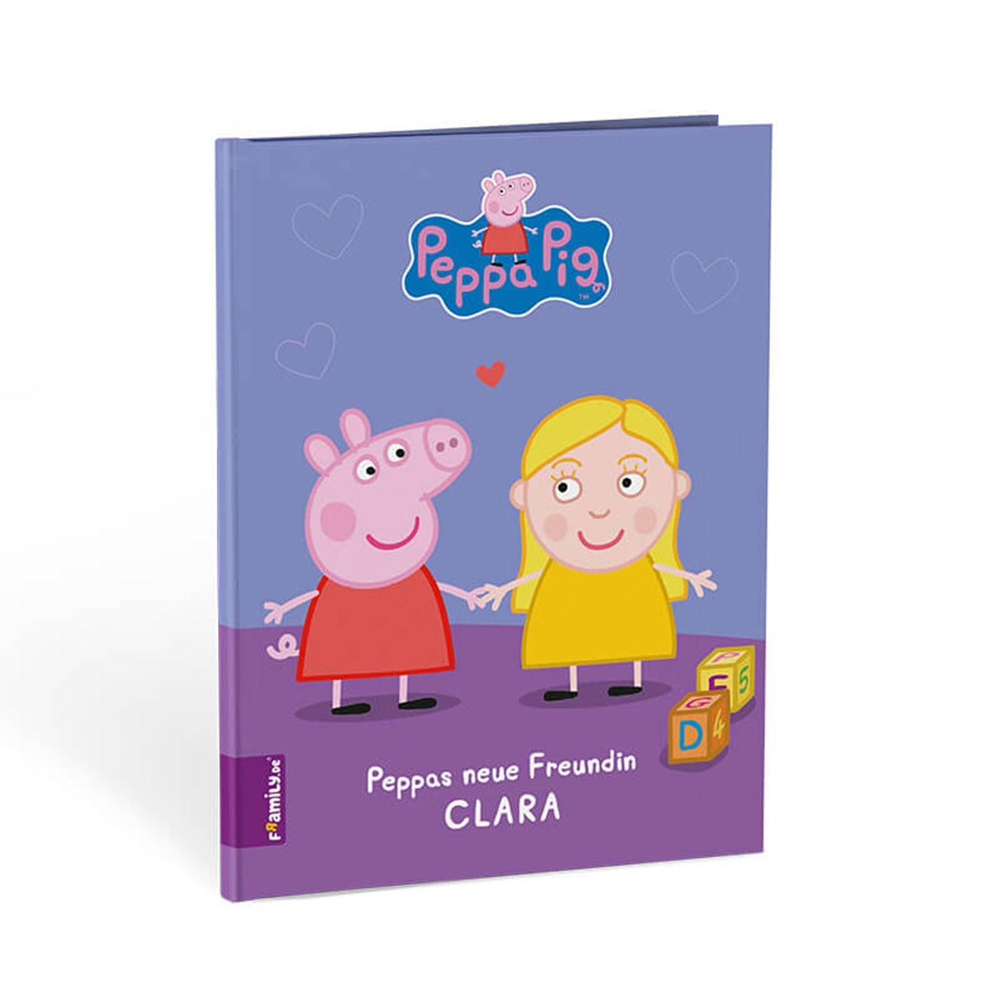 Geschenke-Tipp für Kinder: Peppa Pig Kinderbuch personalisieren // HIMBEER