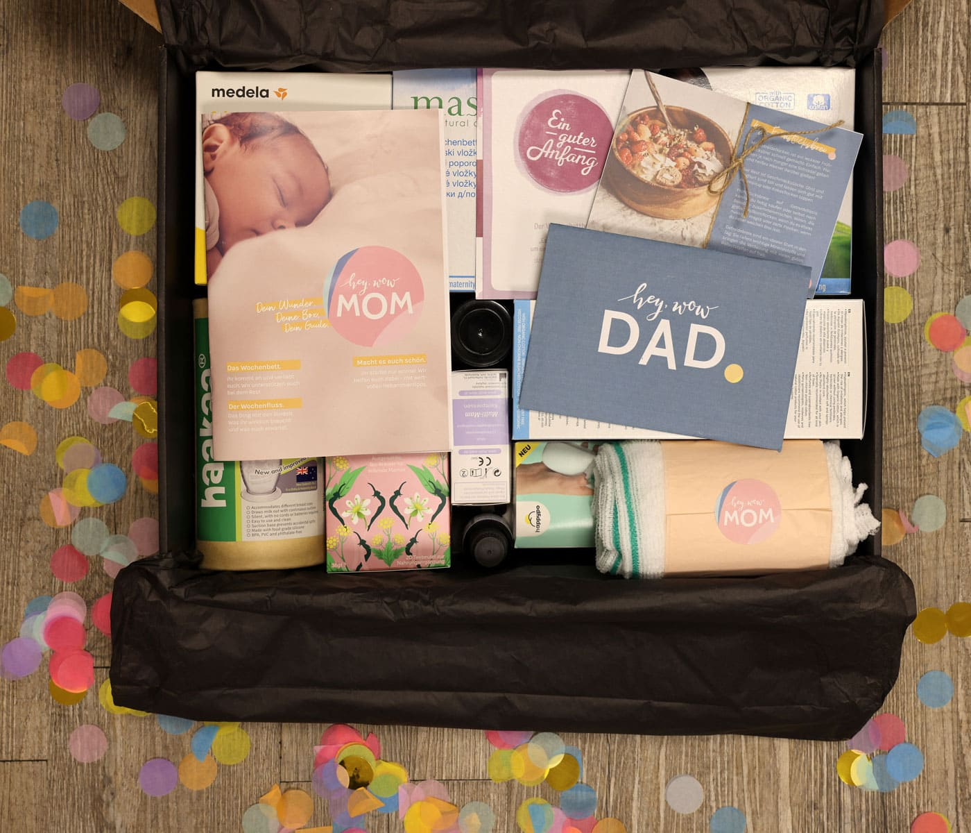 Wochenbett-Box hey WOW MOM // HIMBEER