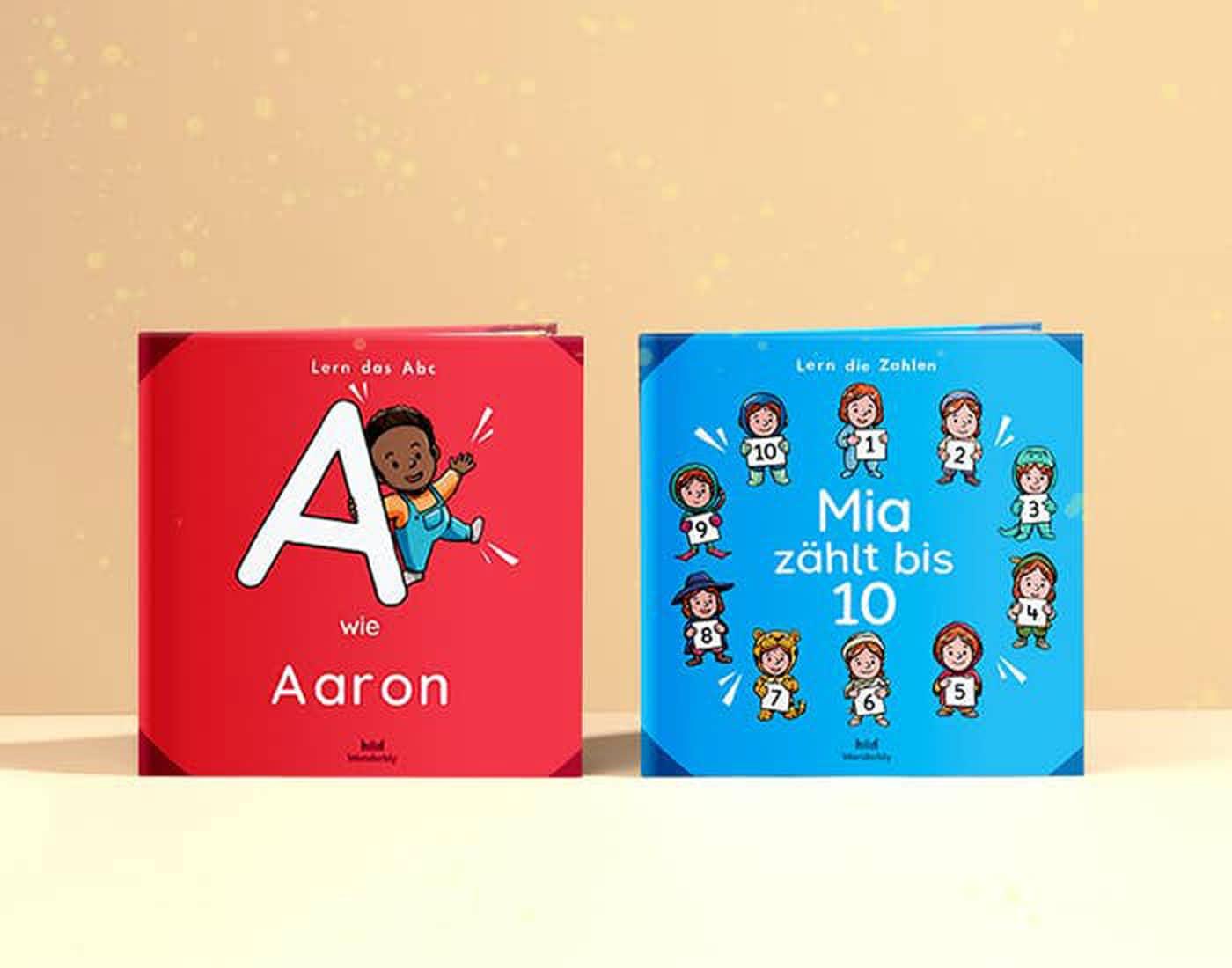 Individualiserte Kinderbücher: Lernbibliothek für Kinder von Wonderbly // HIMBEER