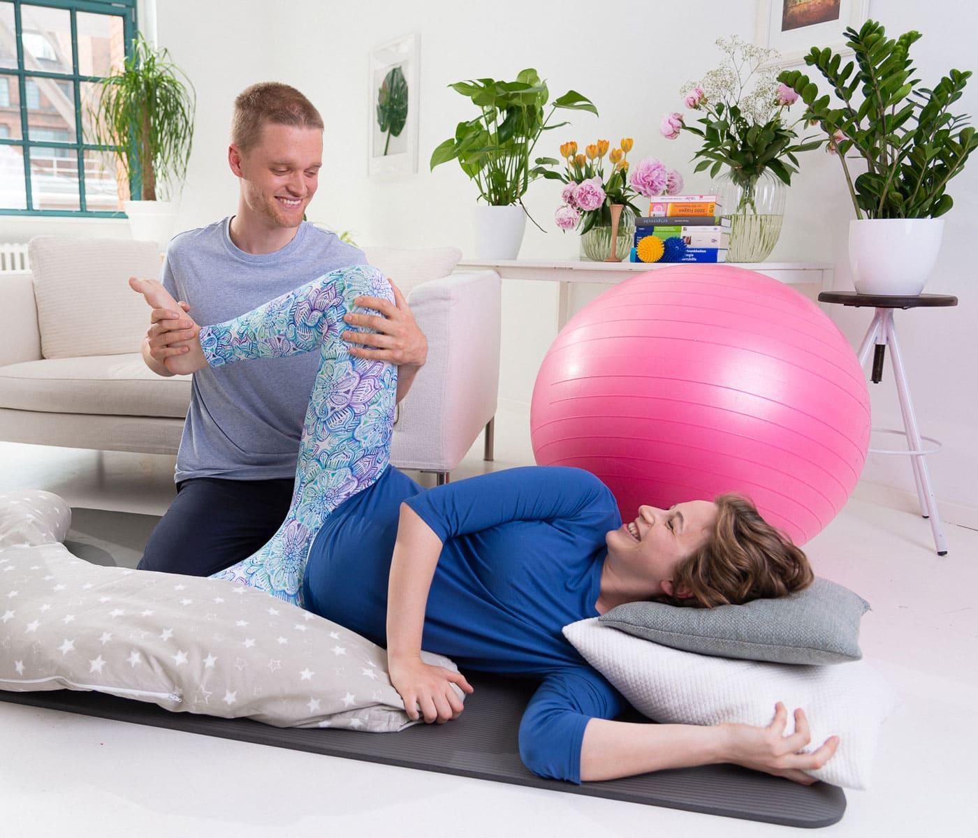 Online-Geburtsvorbereitungskurse bei Keleya // HIMBEER