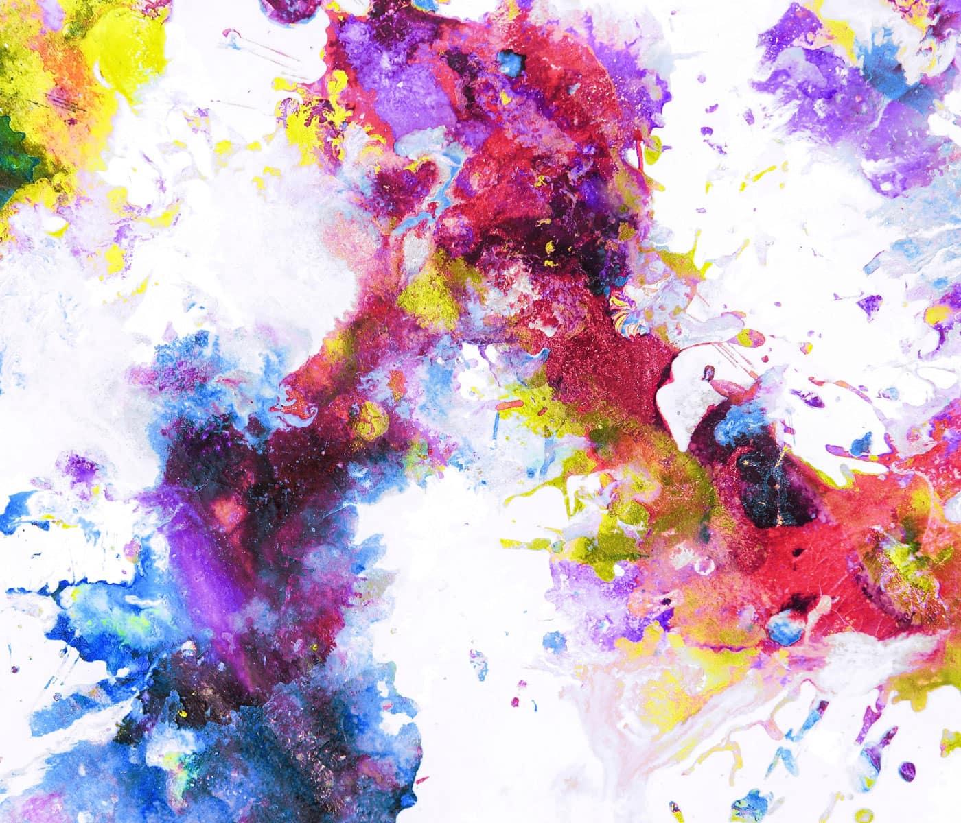 Online-Kunstworkshop für Kinder: Farben entdecken // HIMBEER