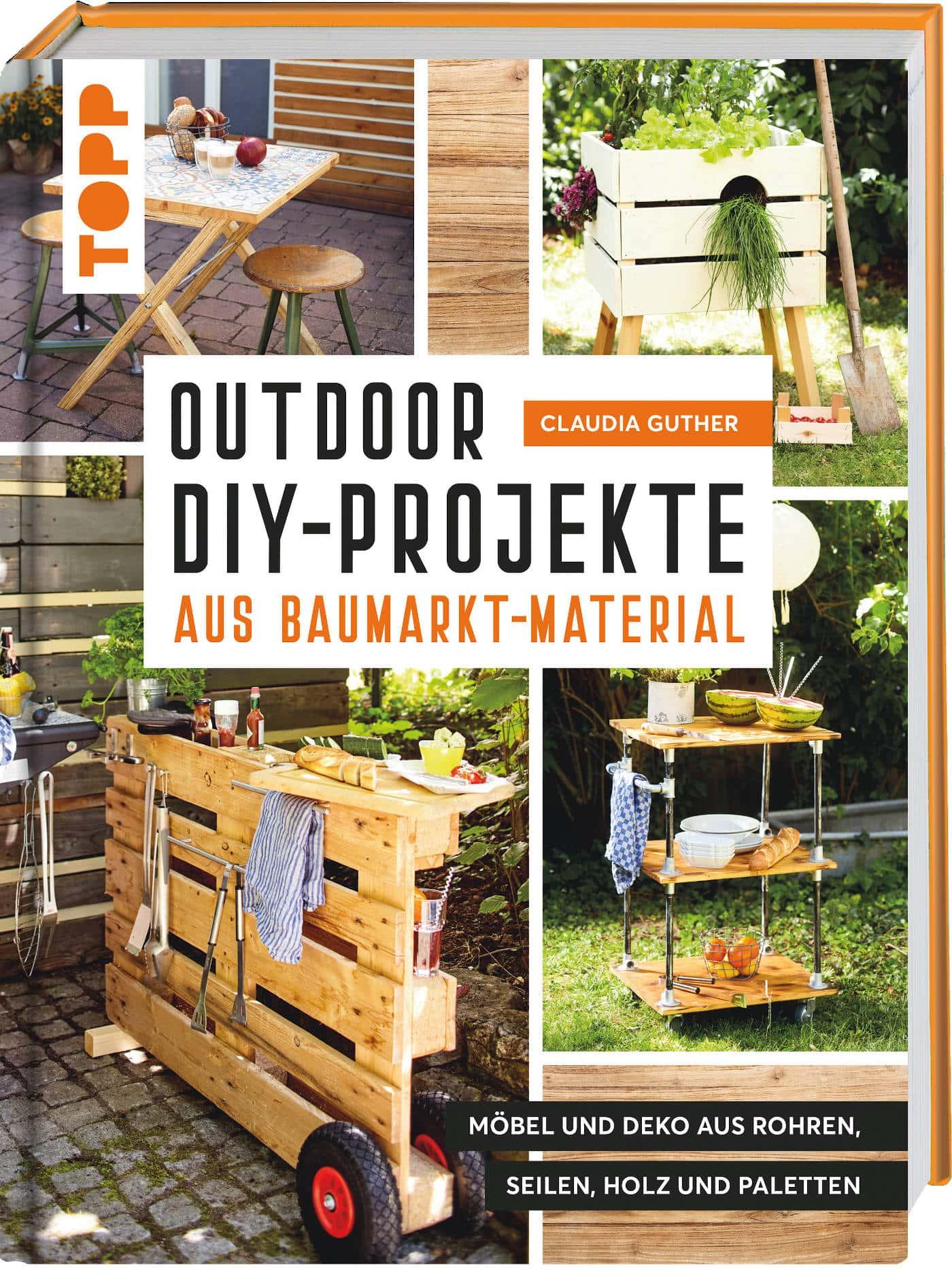 Sandkasten mit Bambus-Zeltdach aus Outdoor DIY-Projekt // HIMBEER