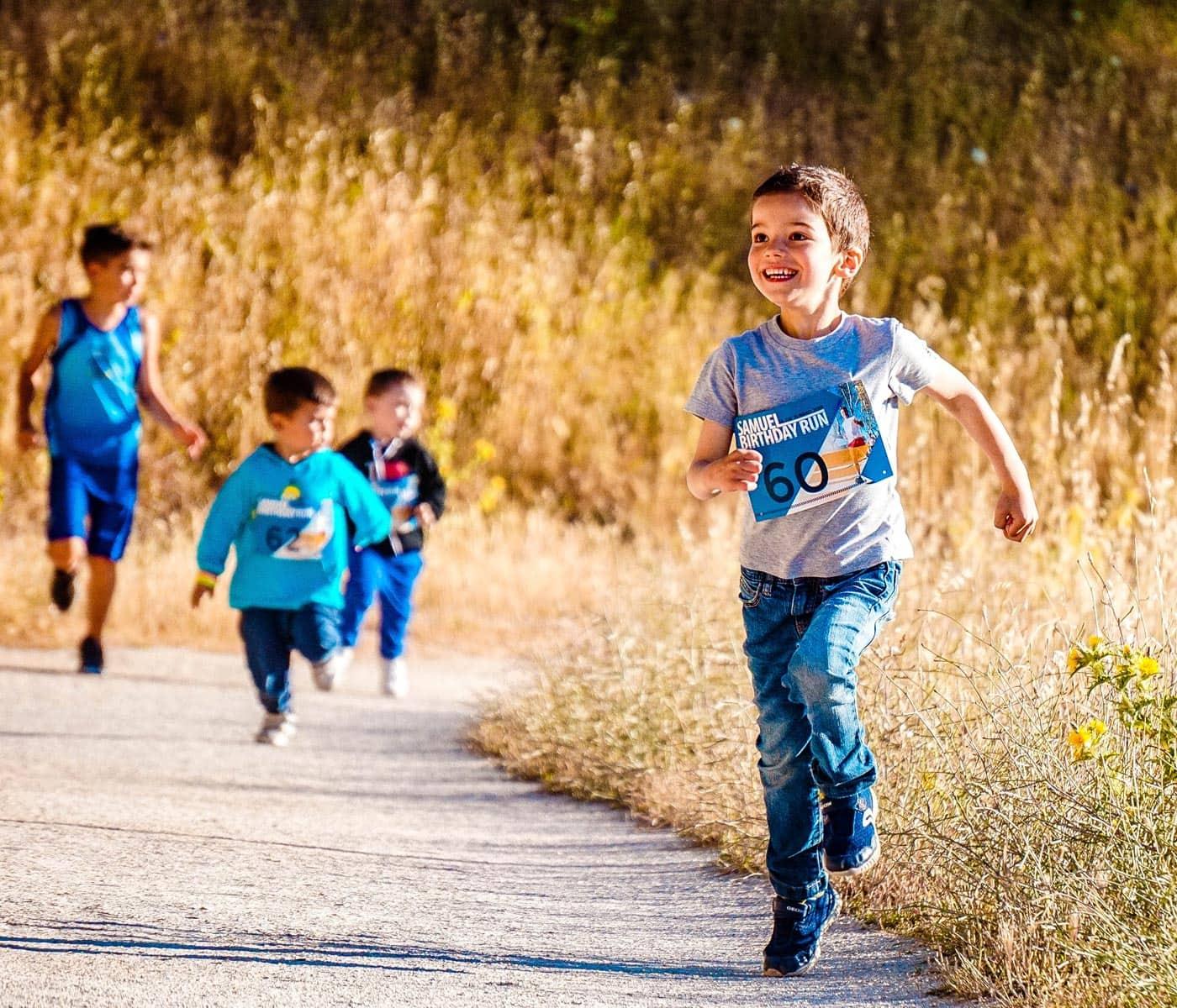 Benefizlauf in München und Umland: Kinder-laufen für Kinder // HIMBEER