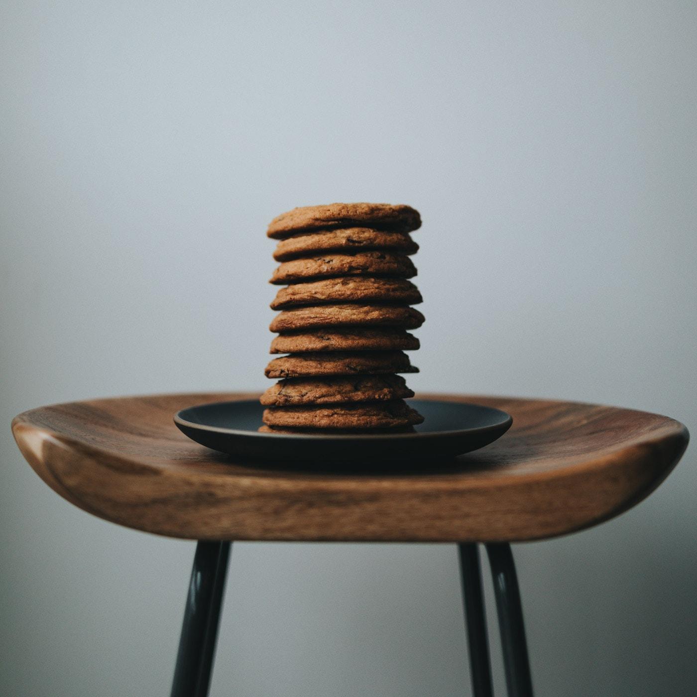 Köstliche Idee für Muttertags-Wochenende: Chocolate-Chip-Cookies mit Cynthia Barcomi backen // HIMBEER