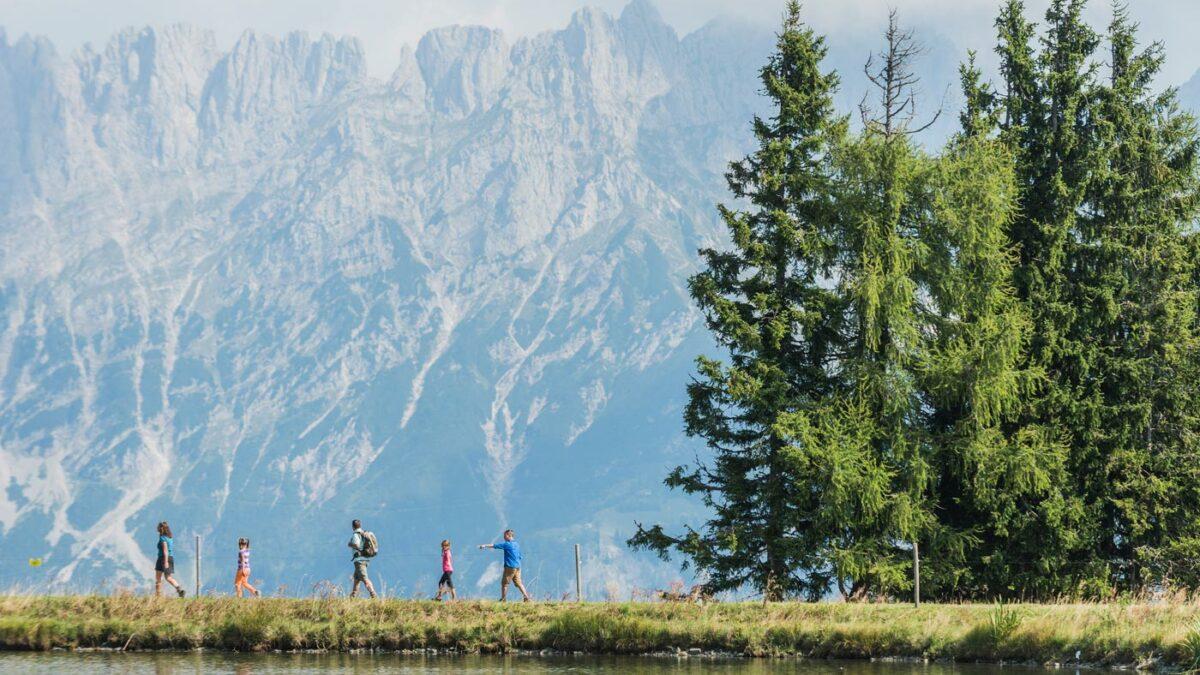 Familienurlaub in Österreich: Wandern am Wilden Kaiser // HIMBEER