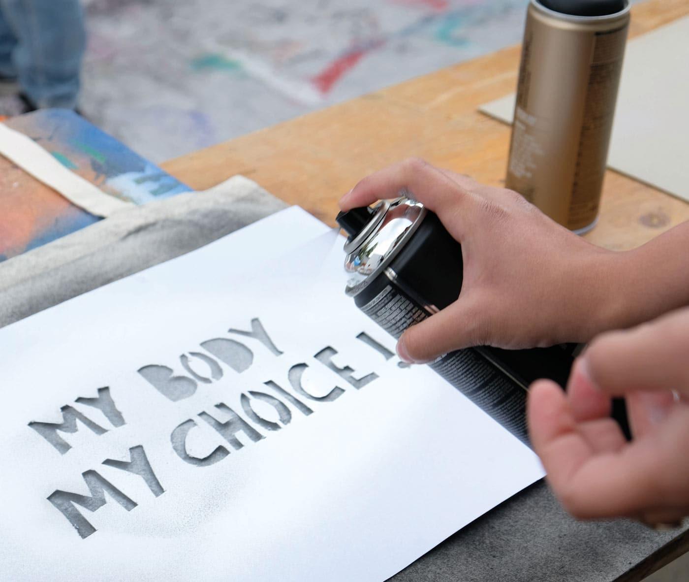 Road to Utopia: My Body my Choice // HIMBEER