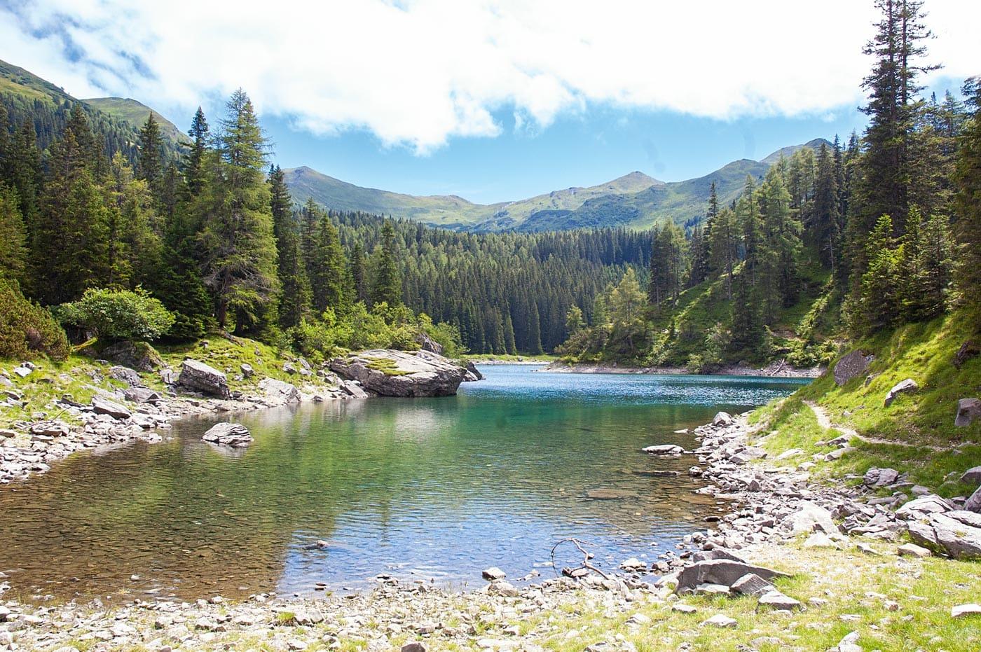 Wandern mit Kindern in Tirol: Obernberger See // HIMBEER