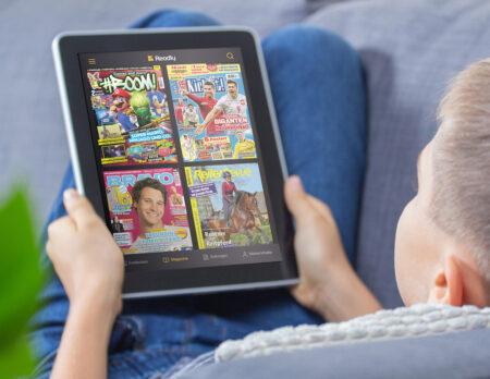 Urlaubszeit ist Lesezeit – mit der Magazin-App Readly // HIMBEER