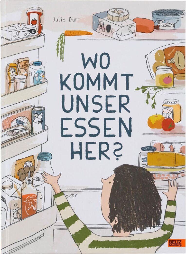 Stiftung Buchkunst: Die Schönsten Deutschen Bücher 2021: Kinder- und Jugendbücher: Wo kommt unser Essen her? // HIMBEER