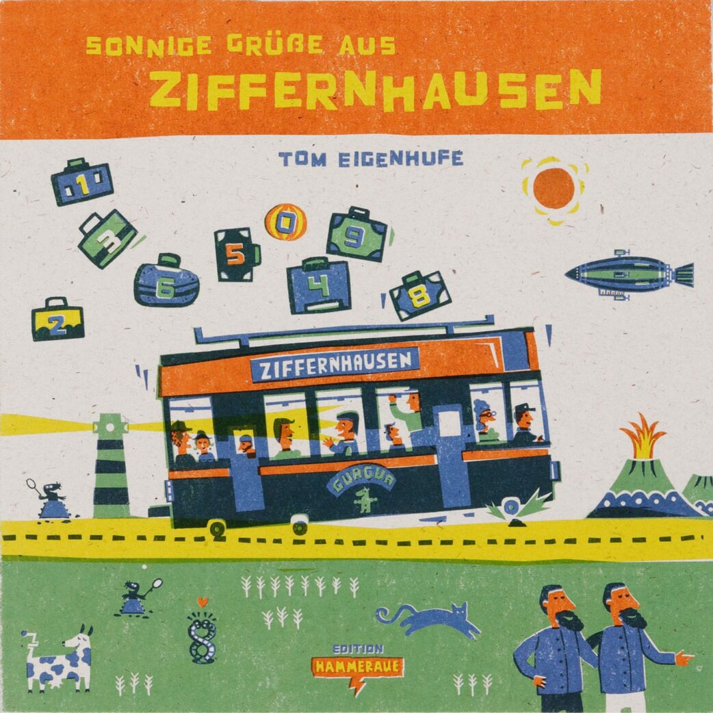 Stiftung Buchkunst: Die Schönsten Deutschen Bücher 2021: Kinder- und Jugendbücher: Ziffernhausen // HIMBEER