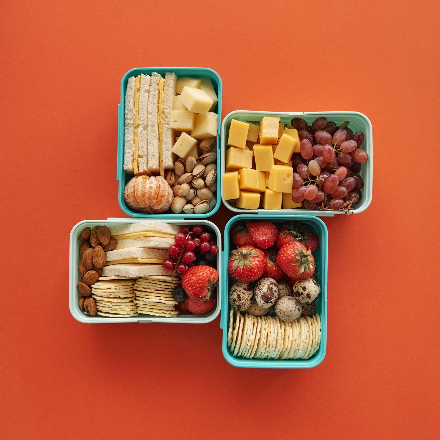 Snacks für die Autofahrt mit Kindern // HIMBEER