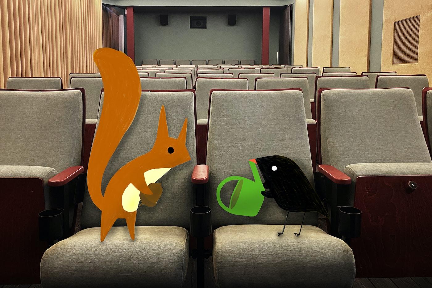 Das Kino Neues Maxim mit Filmen für Kinder und Familien // HIMBEER