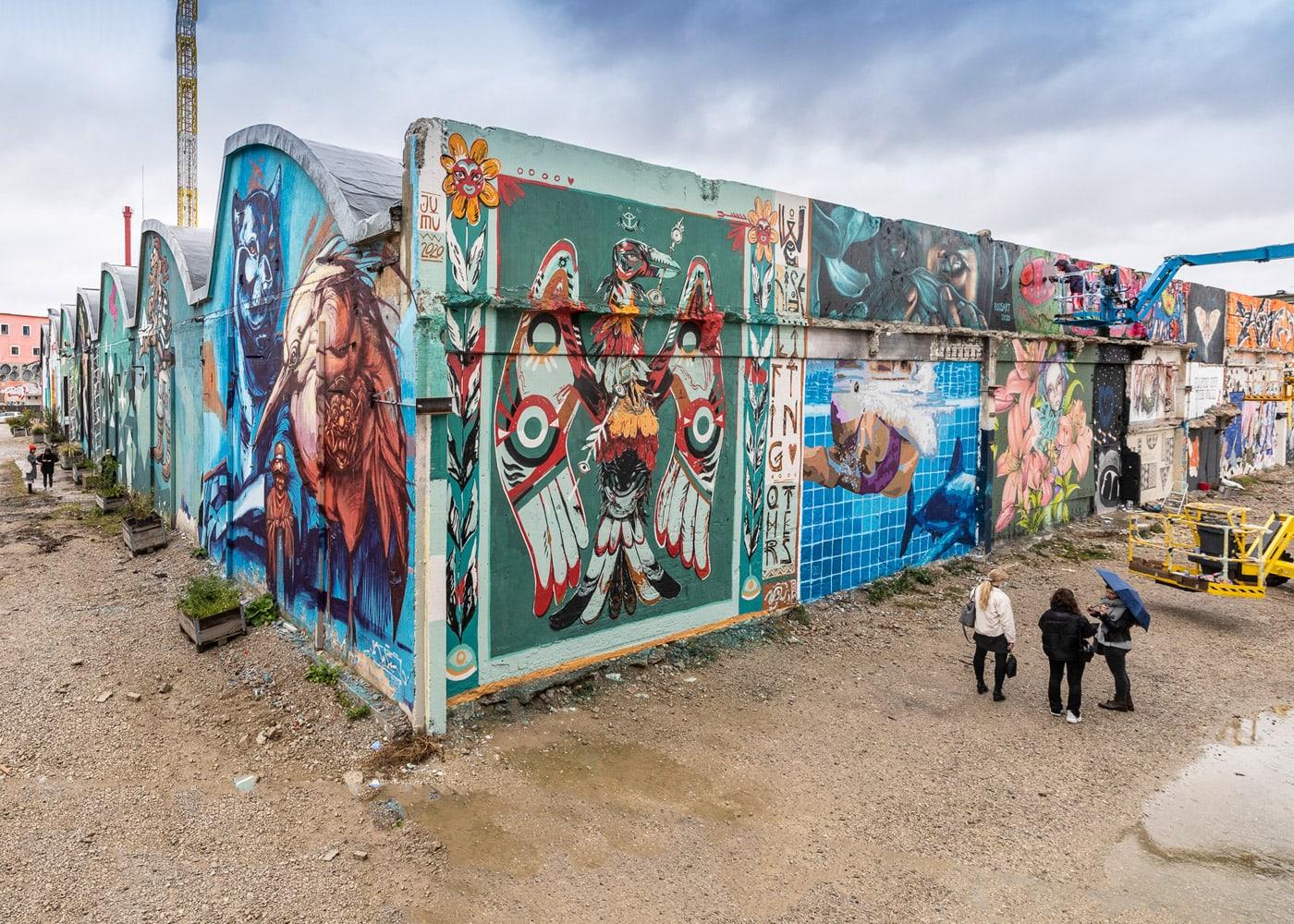Female Graffiti- und Street Art-Festival in München: Hands Off The Wall im Werksviertel // HIMBEER