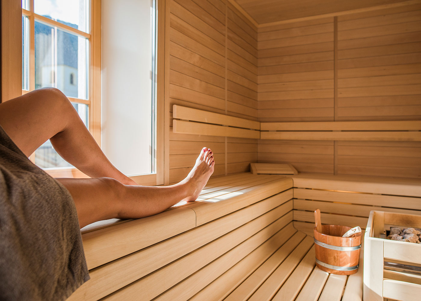 Kinderfreundlicher Gasthof mit Sauna in Südtirol // HIMBEER