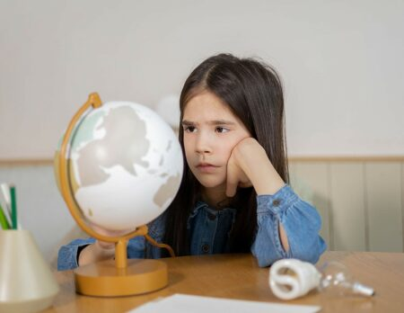 Kinder und ihre Gedanken zu Klimawandel und Umweltschutz // HIMBEER