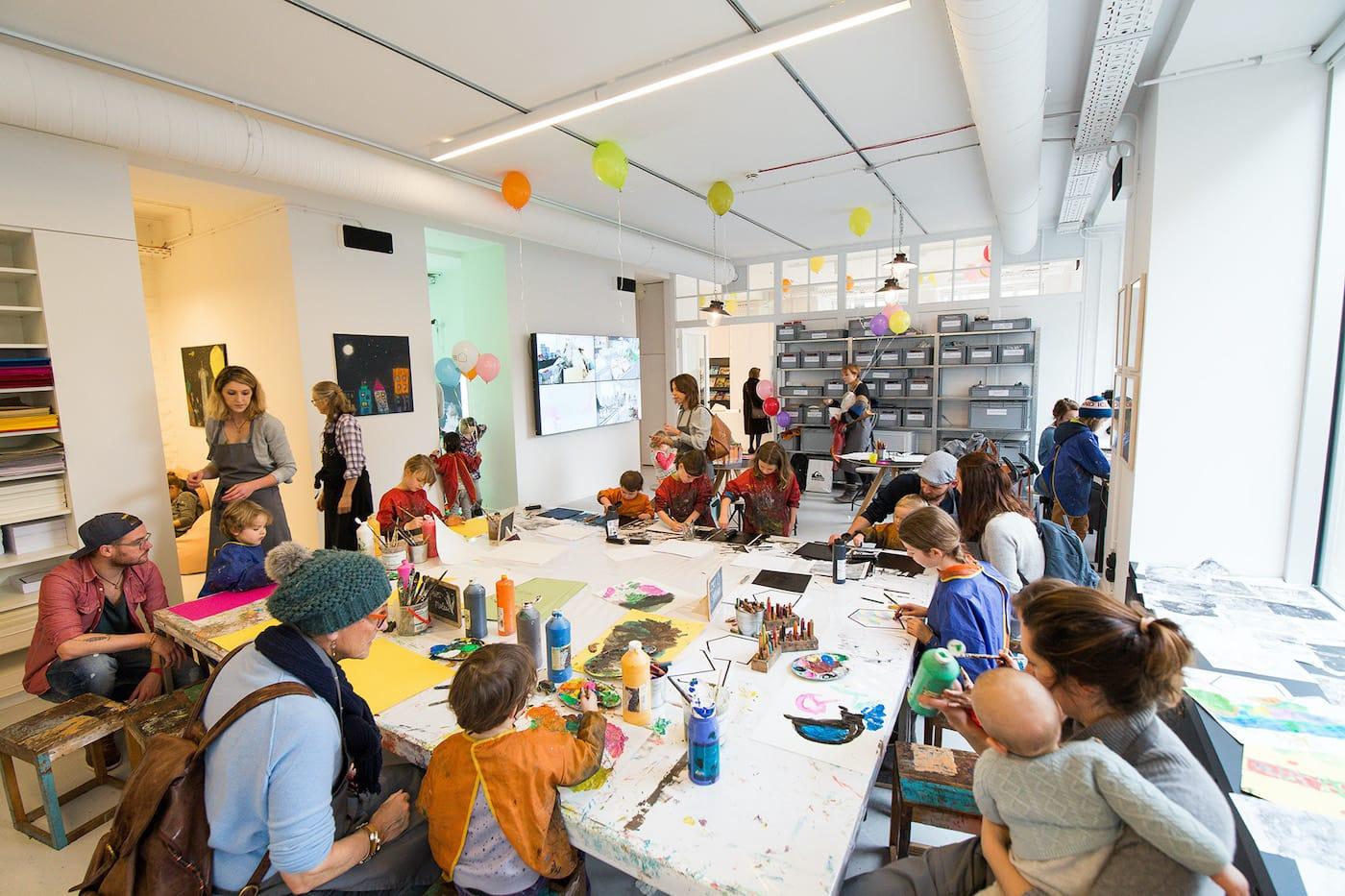 Veranstaltungen für Kleinkinder: Offenes Programm im Kinderkunsthaus // HIMBEER