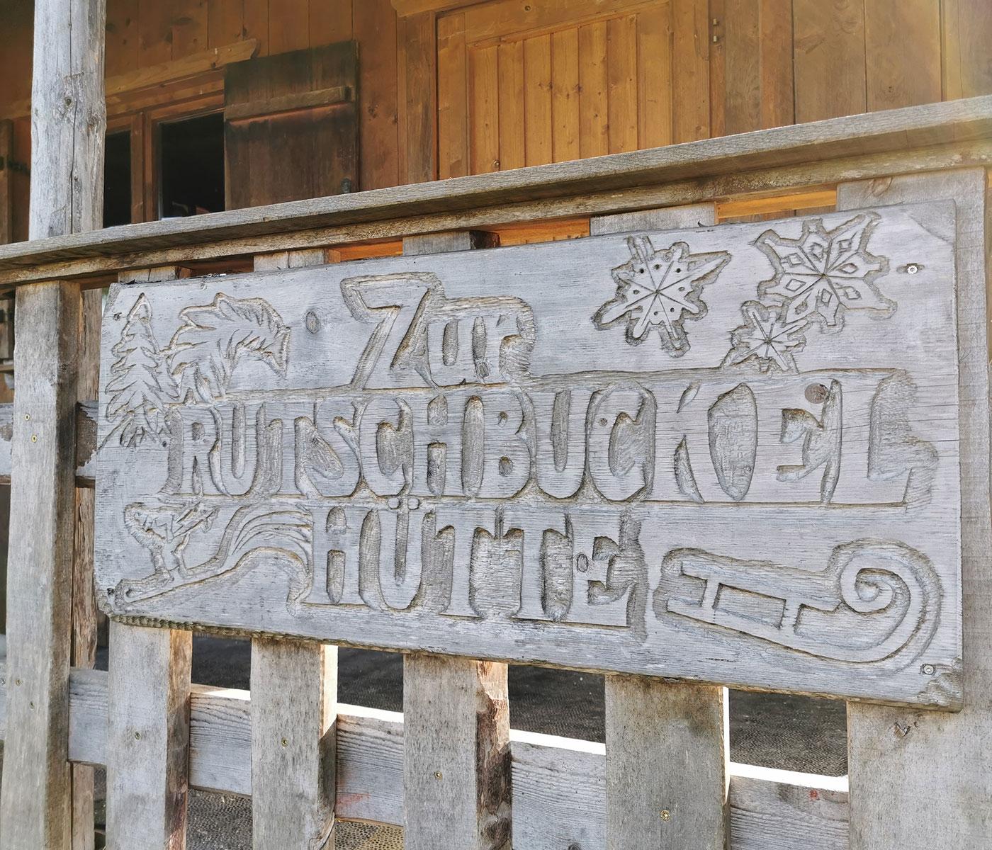 Sieben-Quellen-Sagenspaziergang: Rutschbuckelhütte // HIMBEER