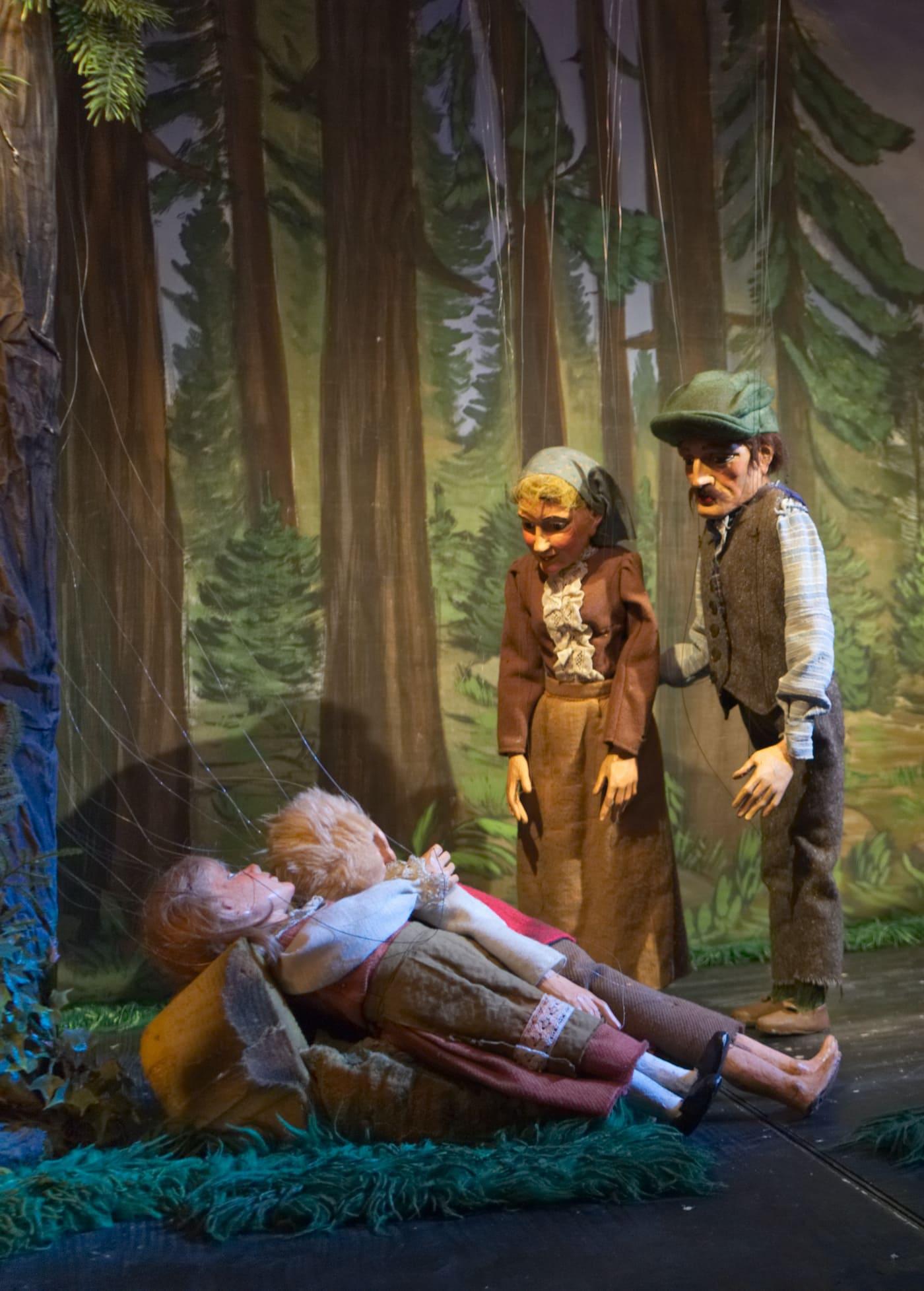 Marionettentheater Bille in München für Kinder // HIMBEER