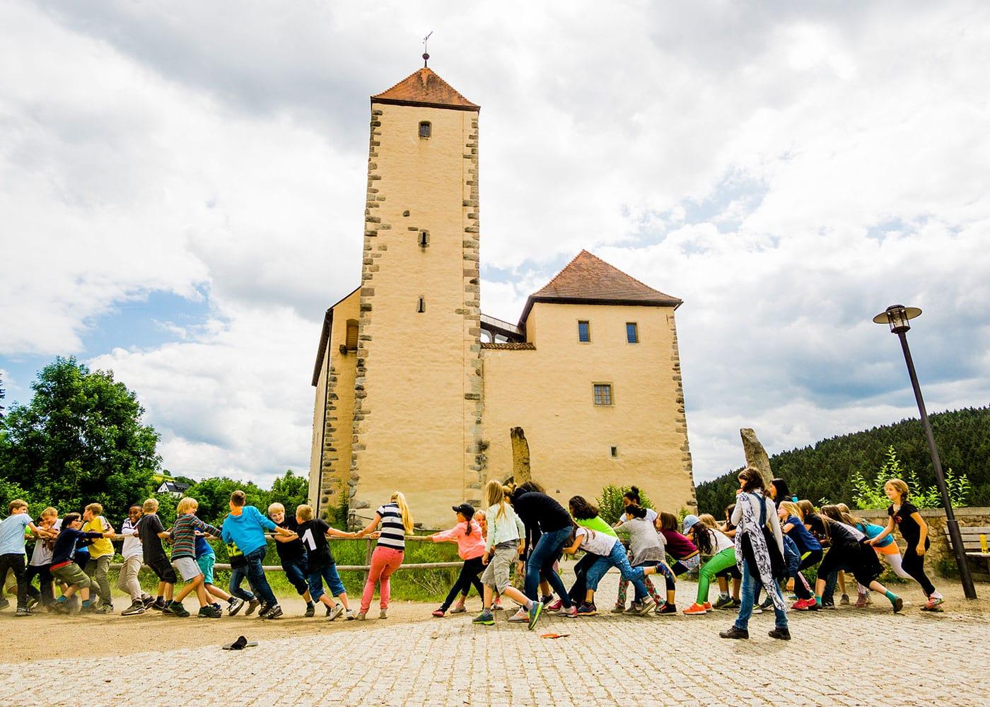 Kostengünstige Ferienfreizeit in bayrischen Jugendherbergen // HIMBEER