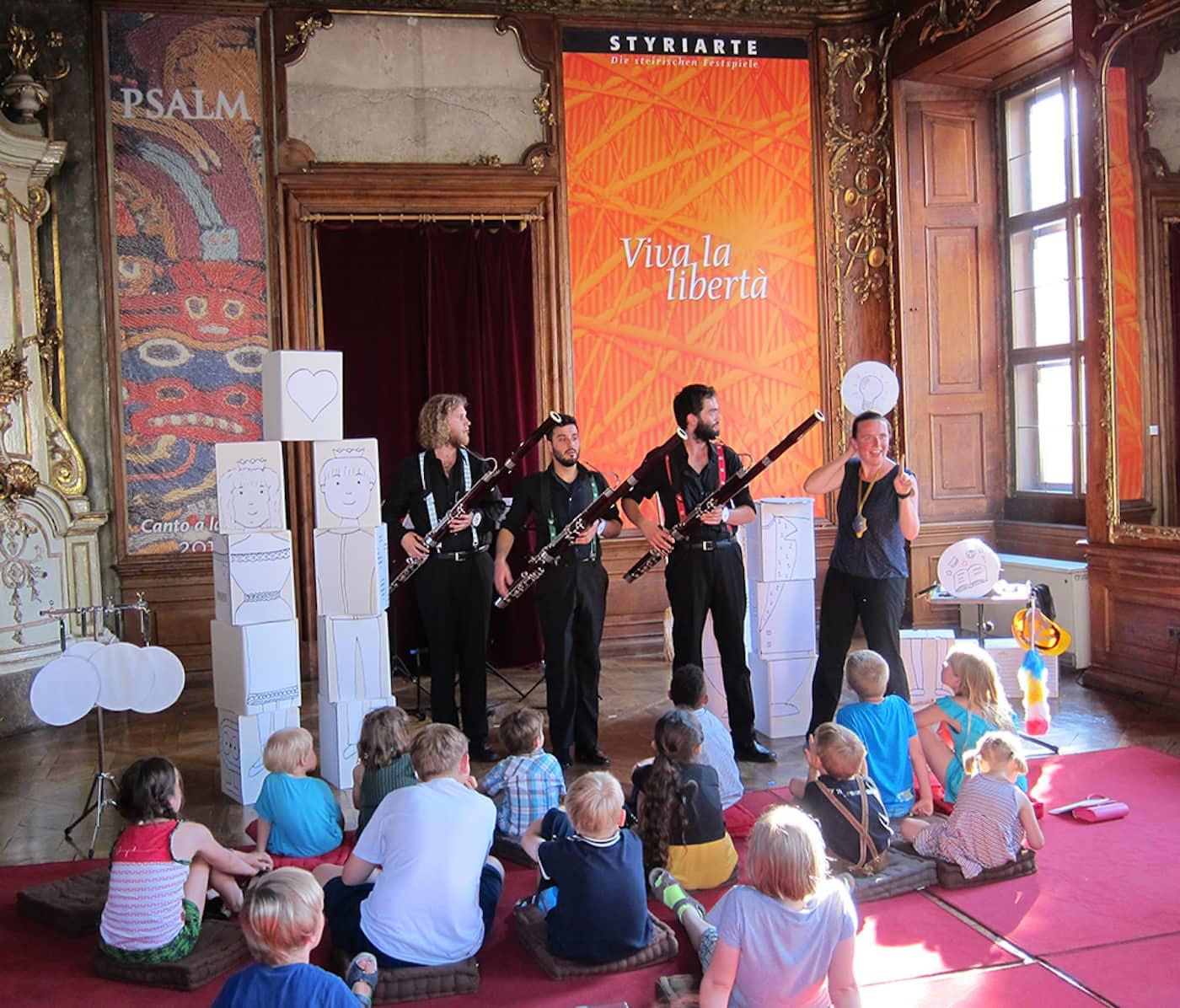 Kinderkonzert beim Musikfest Blumenthal // HIMBEER