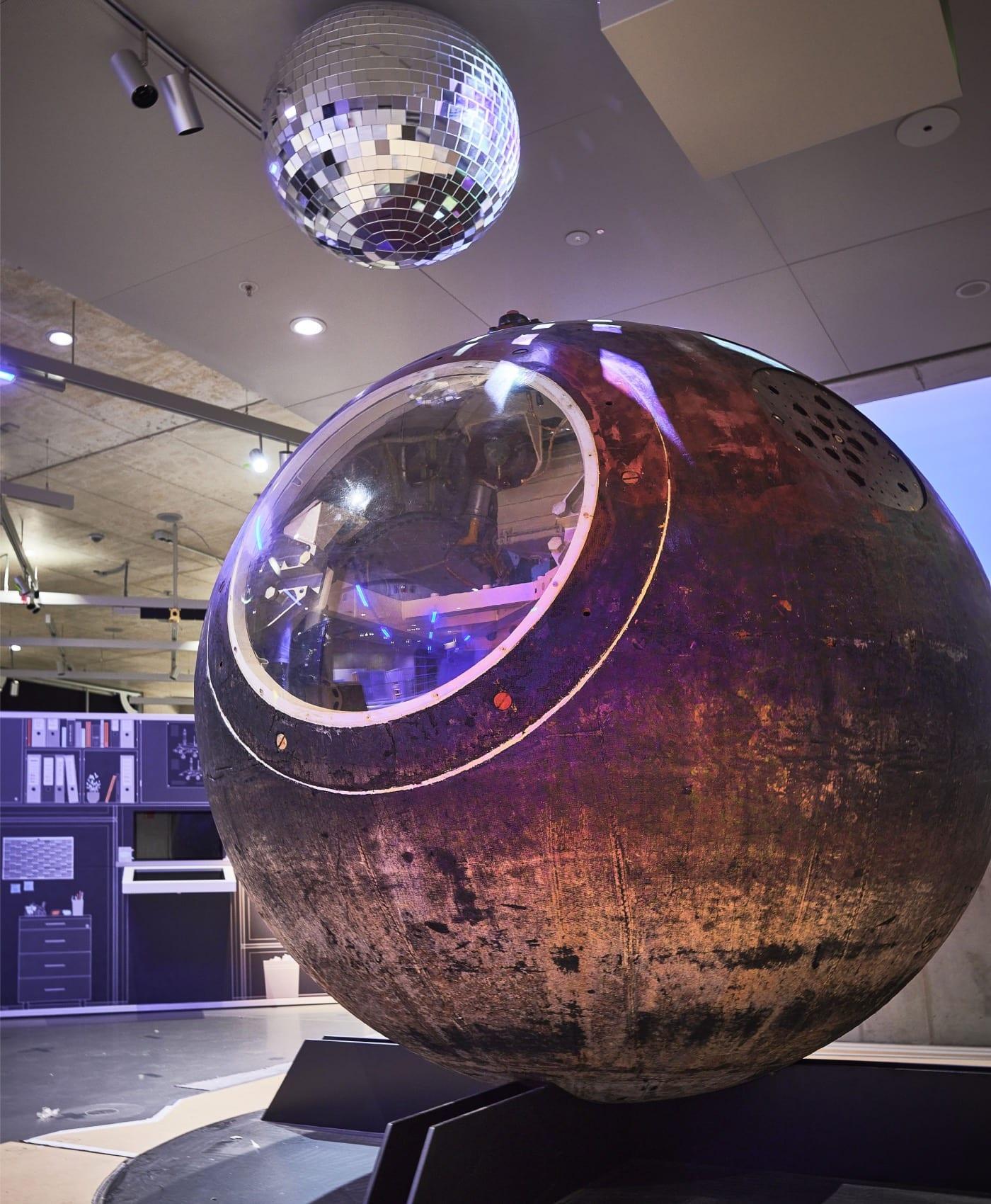 Raumkapsel im Zukunftsmuseum in Nürnberg // HIMBEER