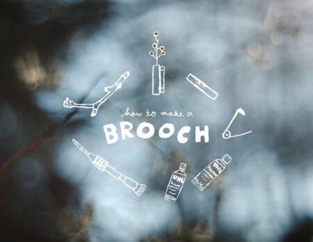 Schmuck-Workshop für Kinder in Berlin: How to make a brooch // HIMBEER