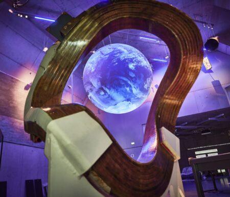 Globus und Stellarspule im Deutschen Museum Nürnberg // HIMBEER