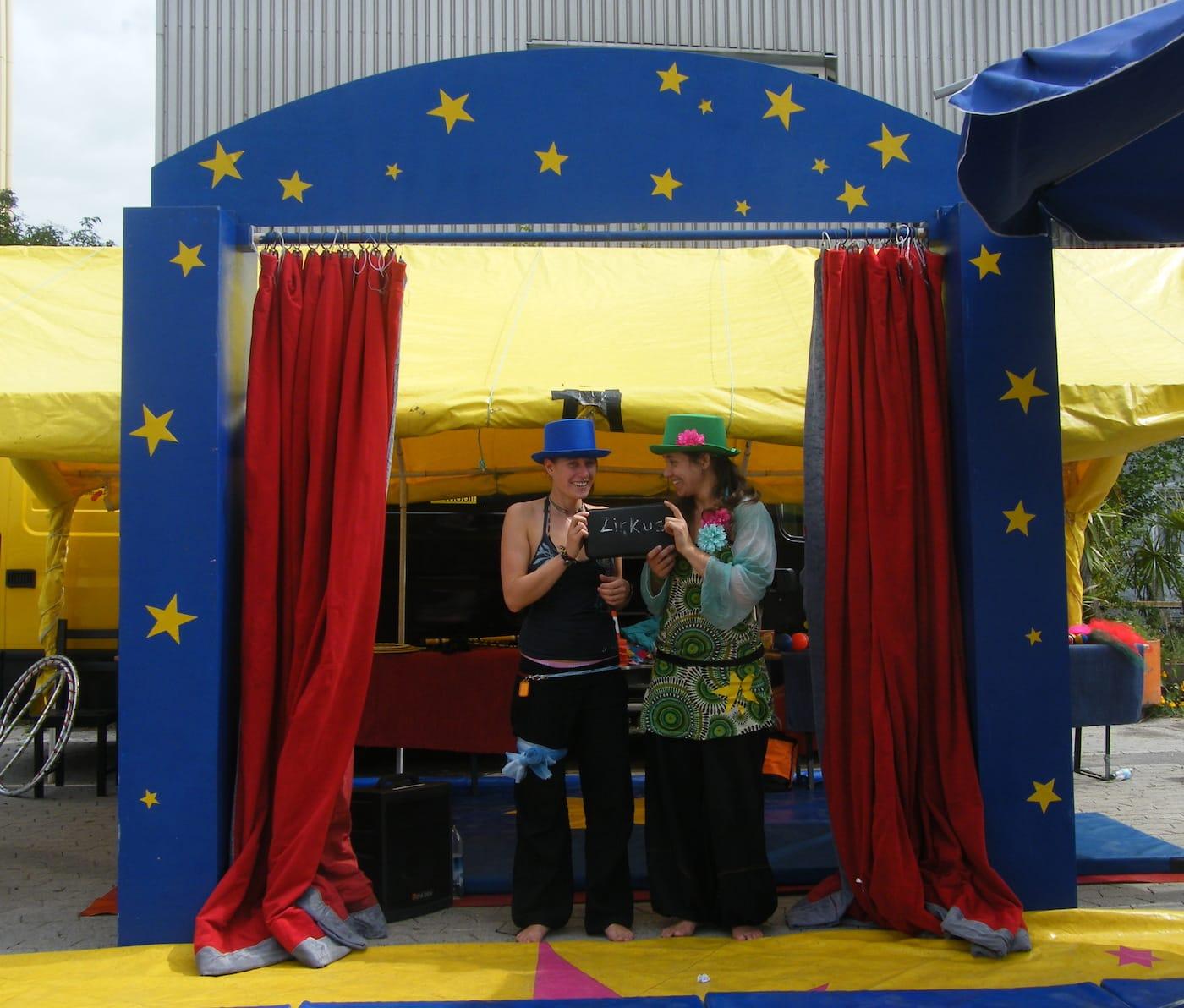 Der Echo-Spielbus beim JuKi-Festival ist wieder dabei // HIMBEER