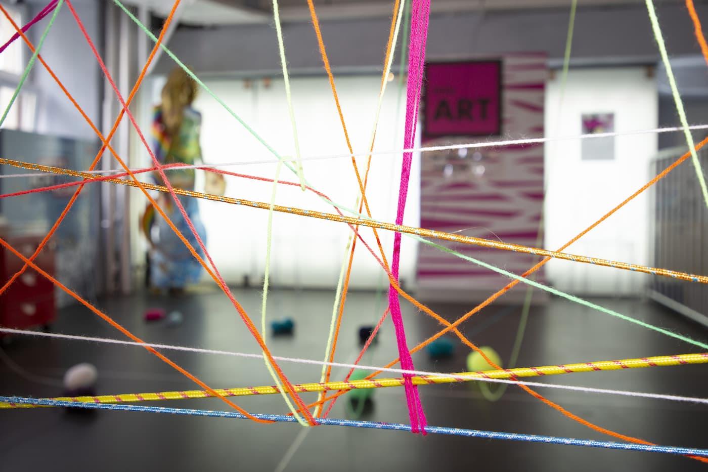Kreativität ohne Grenzen im Kinderworkshop von little ART // HIMBEER
