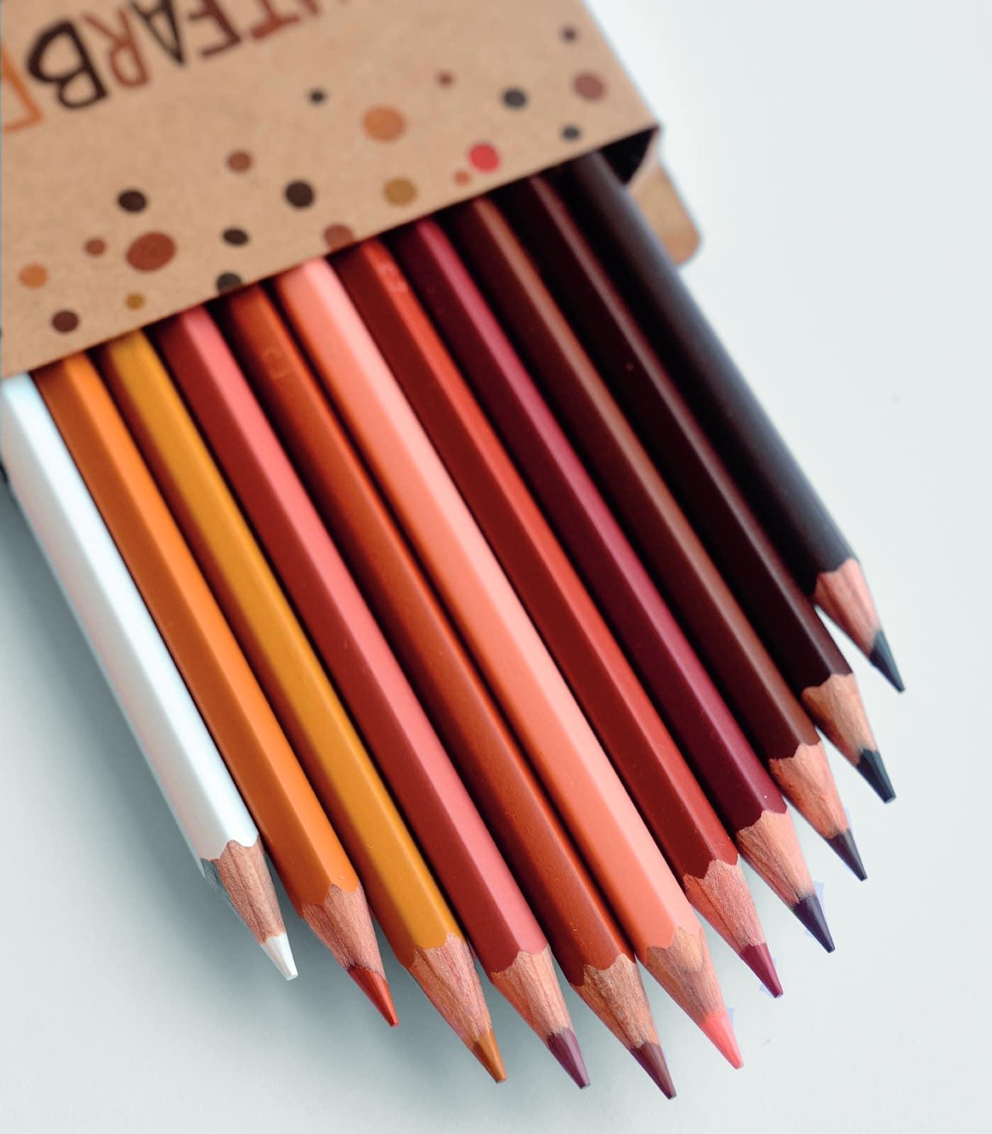 Hautfarbenstifte von GoVolunteer bei tebalou, dem Onlineshop für Diversität im Kinderzimmer // HMBEER