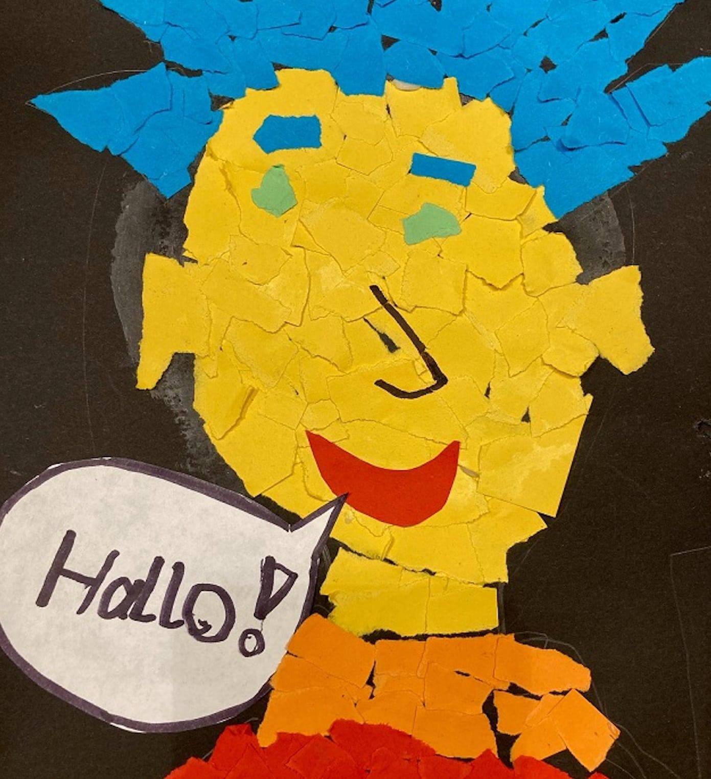 Kinder können Kunst in der Pinakothek der Moderne // HIMBEER